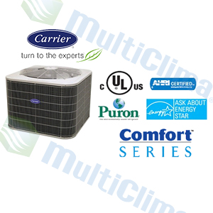Condensador Descarga Vertical Carrier 24ABB  SEER 13 R410