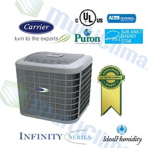 Condensador Descarga Vertical Carrier 24VNA INFINITY  SEER 19 R410 INVERTER